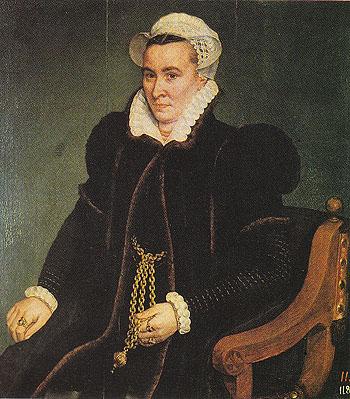 Portrait of a Woman - Frans Pourbus The Elder reproduction oil painting