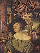 Portrait of a Gentleman 1518 - Ambrosius Holbein