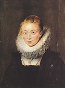 Maid of Honor to the Infanta Isabella 1620 - Peter Paul Rubens