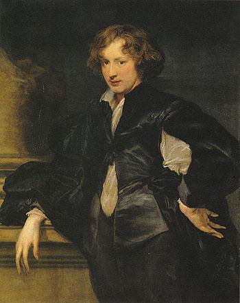 Self Portrait 1620 - Van Dyck reproduction oil painting