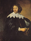 Sir Thomas Chaloner 1630 - Van Dyck reproduction oil painting