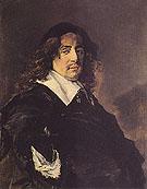 Portrait of a Man 1660 - Frans Hals reproduction oil painting