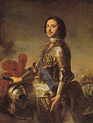Peter I the Great 1717 - Jean Marc Nattier The Younger