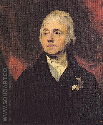 Count S R Vorontsov - Sir Thomas Lawrence reproduction oil painting