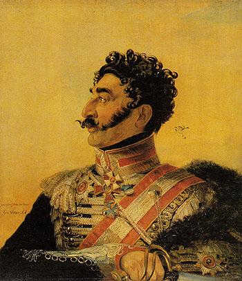 V G Madatov - George Dawe reproduction oil painting