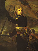 Napoleon Bonaparte on the Bridge at Arcole - Antoine Jean Gros
