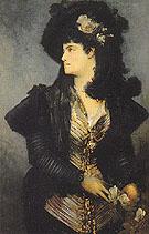 Portrait of a Lady - Hans Makart