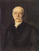 Prince Otto von Bismarck - Franz von Lenbach