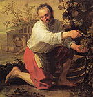 Grape Grower 1928 - Jacob Gerritsz Cuyp reproduction oil painting