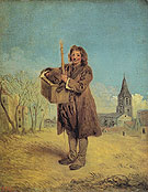 The Savoyard with a Marmot 1716 - Jean Antoine Watteau