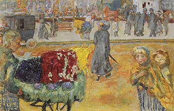 Evening in Paris 1911 - Pierre Bonnard reproduction oil painting