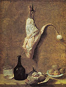 Still Life with Calfs Leg - Jean Baptiste Oudry