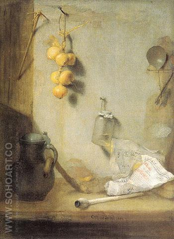 Still Life 1660 - Christoph Paudiss reproduction oil painting
