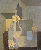 Still Life Dishes 1920 - Amedee Ozenfant