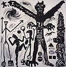 Der Dae,pm 1982 - A R Penck
