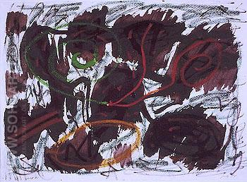 Jule 13 1982 - A R Penck reproduction oil painting