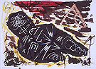 Jule 14 1982 - A R Penck reproduction oil painting