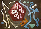 Ml 3 1988 - A R Penck reproduction oil painting