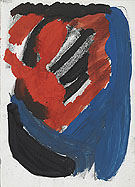 Negatives Leben 1974 - A R Penck reproduction oil painting