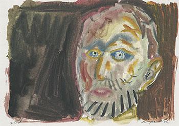 Self Portrait 1987 - A R Penck reproduction oil painting