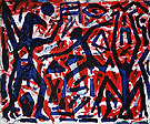 Standard 1989 - A R Penck reproduction oil painting