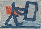Untitled 3 1967 - A R Penck reproduction oil painting
