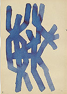 Untitled 4 1967 - A R Penck reproduction oil painting
