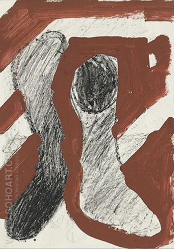 Untitled I 1974 - A R Penck reproduction oil painting