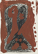 Untitled II 1974 - A R Penck reproduction oil painting