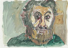 Untitled Self Portrait 5 1987 - A R Penck