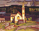 Anglican Church at Magnetawan - A.J. Casson