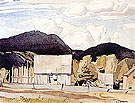 Barns Mcgarry Flats - A.J. Casson reproduction oil painting