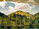 Bedard Pond - A.J. Casson reproduction oil painting