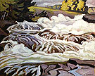 Buck Slide - A.J. Casson reproduction oil painting
