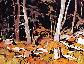 Combermere - A.J. Casson reproduction oil painting