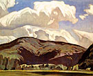 Eagles Nest - A.J. Casson reproduction oil painting