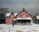 Grey March Day - A.J. Casson