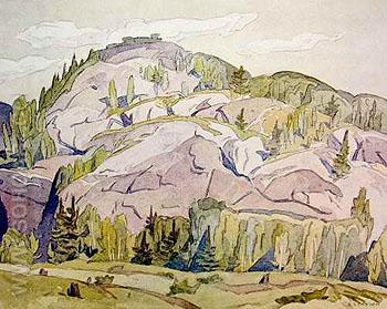 Hills at Mcgarry Flats - A.J. Casson reproduction oil painting