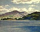Kamaniskeg Lake Summer - A.J. Casson