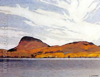 Lake Willough - A.J. Casson reproduction oil painting