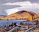Madawaska River - A.J. Casson reproduction oil painting