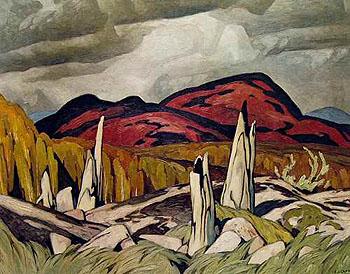 Madawaska Valley B - A.J. Casson reproduction oil painting