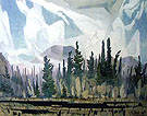 Morning Mist B - A.J. Casson
