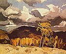 October Storm Clouds - A.J. Casson
