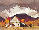 Old Barn - A.J. Casson