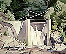 Old Country Dam - A.J. Casson reproduction oil painting