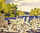 Old Dam - A.J. Casson