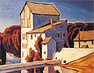 Old Mill Elora - A.J. Casson reproduction oil painting