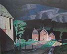 Passing Storm - A.J. Casson reproduction oil painting