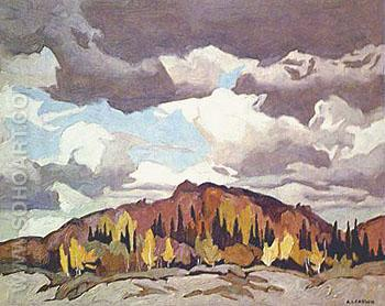 Pinery Road - A.J. Casson reproduction oil painting
